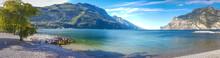 Spiaggia A Torbole Sul Garda
