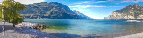 Fotografie, Obraz Spiaggia a Torbole sul Garda