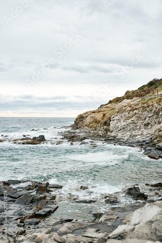 The coast of Cadaqués, Spain