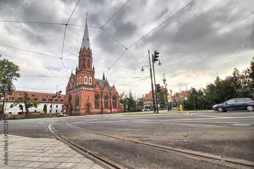 Kościół św. Szczepana w Toruniu – kościół parafii ewangelicko-augsburskiej - Toruń - Polska