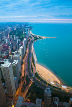 View Of Chicago Illinois And L...