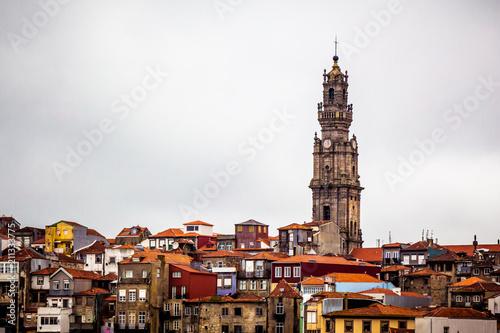 Fotografia, Obraz Roofs and Clérigos Tower