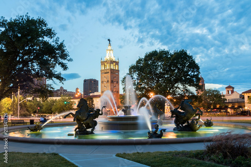 J.C. Nichols Memorial Fountain at the Country Club Plaza, Kansas City