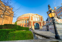 Stairs Leading To The Back Of The Royal Albert Hall
