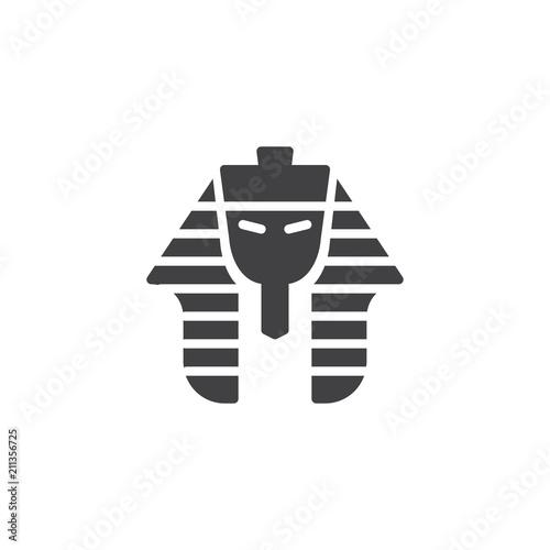 Photo Egyptian pharaoh vector icon