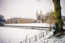 King's College In Winter | Cambridge, UK