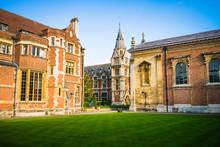 Public Library At Pembroke College In Cambridge