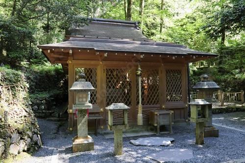 Spoed Foto op Canvas Kyoto 京都 貴船