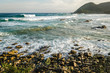 canvas print picture - Port St Johns Indian Ocean. Wild Coast, Eastern Cape, South Africa