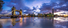 Panorama Of London Landmarks W...