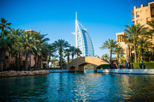 Traditional Bridge At Dubai's ...