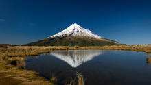 Mount Taranaki Reflected In Po...