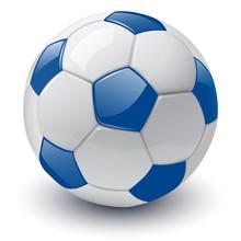 Soccer Ball 3D Vector Illustra...