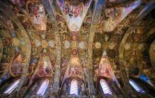 Frescoes In Church Of St Nicho...