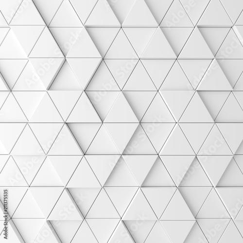 Fototapeta Modern tile wall. 3D rendering.