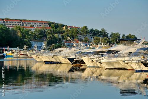 Keuken foto achterwand Mediterraans Europa Yachthafen Vrsar
