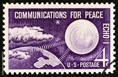 Tela  Echo I Communications Satellite (USA 1960)