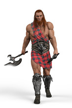 Viking The Highland Warrior In...