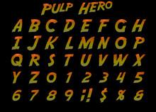 3D Pulp Hero Alphabet