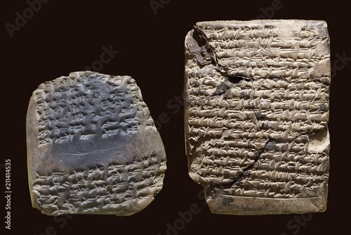 Stampa su Tela Cuneiform tablet