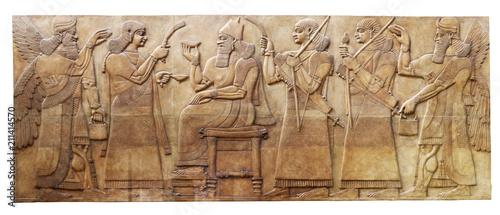 Fotografía Ancient relef from Nimurid
