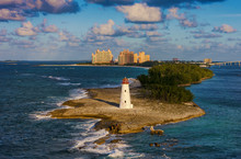 Lighthouse On Paradise Island,...