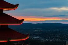 Pagoda In Reading, Pennsylvania