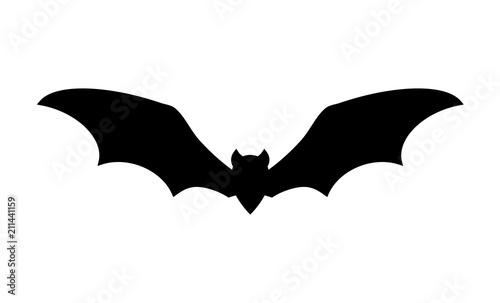 Canvas Print bat icon