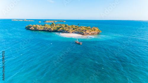 Poster Zanzibar fumba island, zanzibar