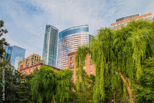 New York City skyscraper in lower Manhattan Poster