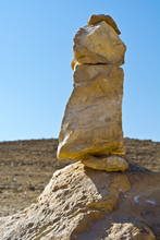 Home-made Dolmen In Israel.