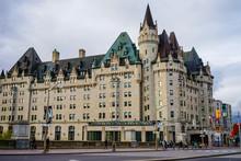 Old Buildings In Ottawa, Canada