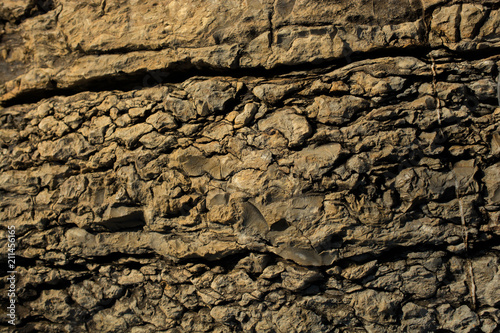 Deurstickers Stenen Rock or Stone surface as background texture