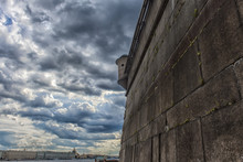 The Wall Of The Bastion Of The Peter And Paul Fortress