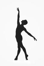 Male Ballet Dancer Silhouette