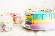 Amazing Birthday Cake With Oth...