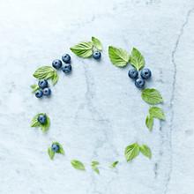 An Arrangement Of Blueberries ...