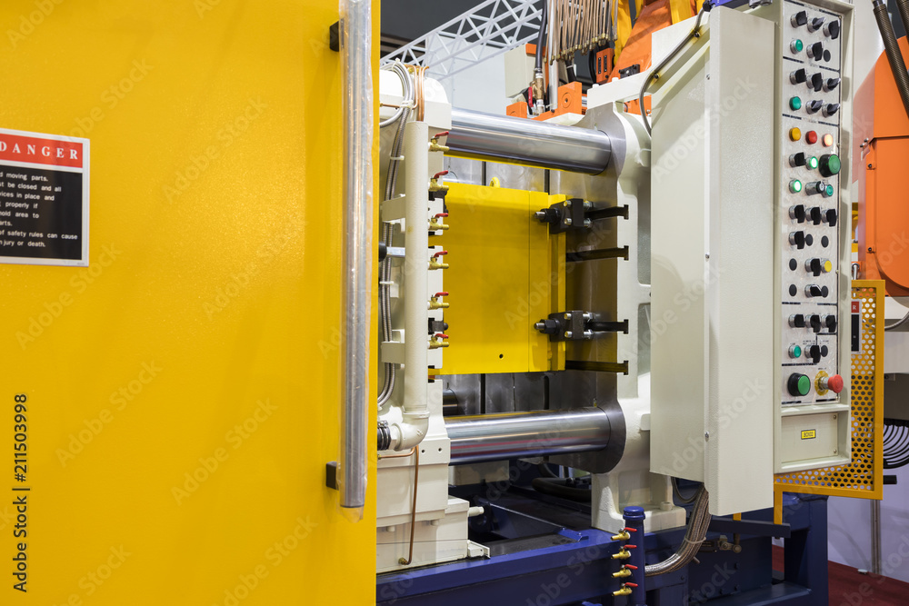 Fototapety, obrazy: high pressure die casting machine