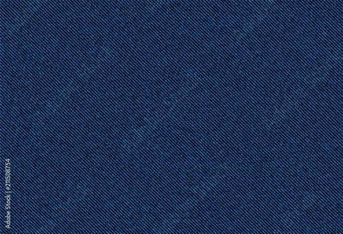 vector background of blue jeans denim texture Fototapet