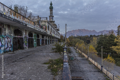 Abandoned town of Consonno Canvas-taulu