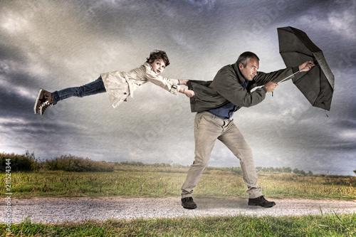 Fotografia via col vento