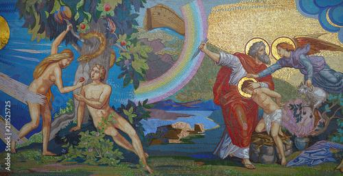 Foto  Religion. Mosaic. Orthodox church in Kirowograd Ukraine