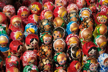 Russian Souvenir Dolls, Matryoshka Doll Collection -