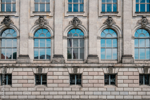 Papiers peints Con. Antique Historic building facade at Museum Island (Museumsinsel) in Berlin