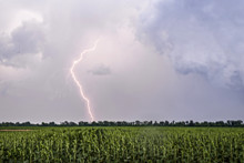 Summer Thunderstorm With Light...