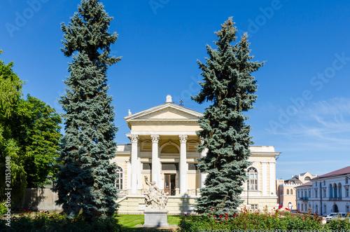 Spoed Foto op Canvas Theater Odesa old city architecture in Ukraine
