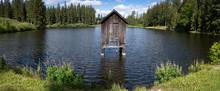 Hütte Im Waldteich