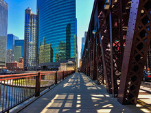Chicago's Elevated Train Track...