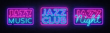 Jazz Music Neon Signs Collecti...