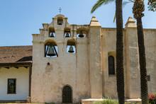 The Bell Tower At San Gabriel Mission, San Gabriel, California
